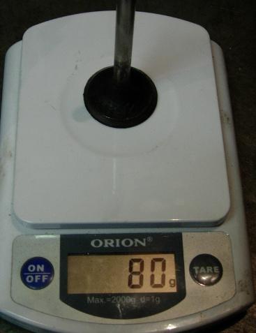вес Впускного клапана 2101 стандарт