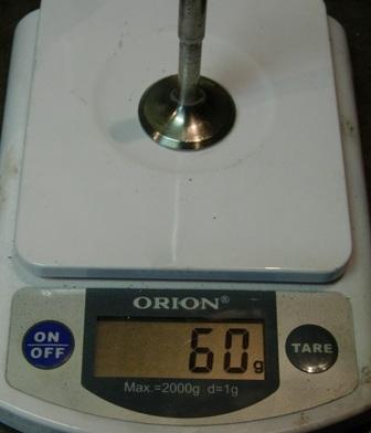 Выпускной клапан 2101 облегчённый на весах