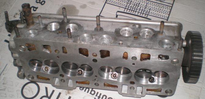 Ремонт головки блока цилиндров ваз 2106 своими