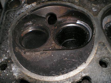Камера сгорания ВАЗ 2108