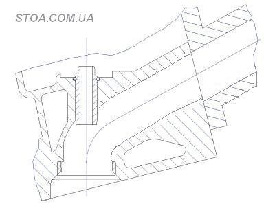 профиль канала головки блока цилиндров стандарт
